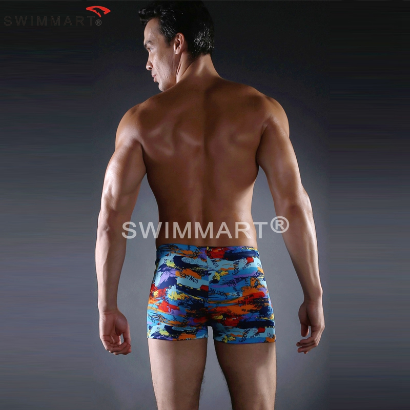 fdcb7132ad1 ... Hot Sales Cool Print Elastic Band adjustable ties man Swimming suits Large  Male Plus size XXXL ...