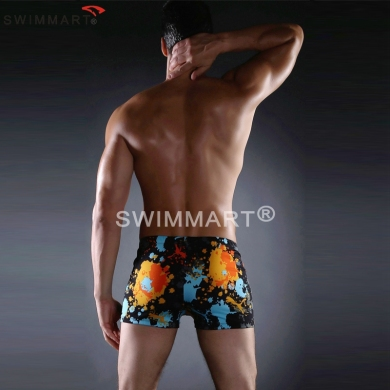 Most Popular Model Cool Allover-Print Swim trunks Large Male Plus size men Swimsuit Drop shipping