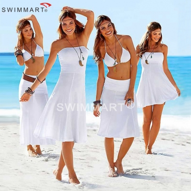 Matches Bikini Multi wears Convertible Cover ups Summer Beach Dresses for Women