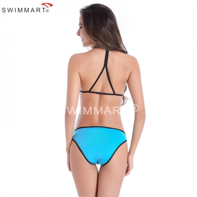 Back Triangular Straps Sponge Pad Sexy girl swimsuit Extreme Bikinis