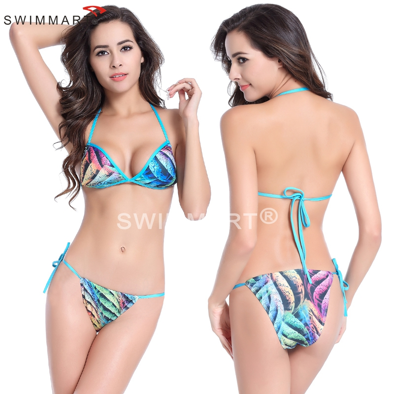 Much Valuable Mini Bottom Fully lined Removable padding Bikini sets