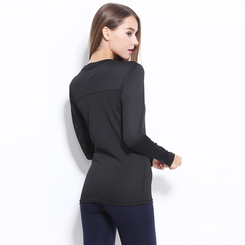 Spring Autumn Big 3XL Women Breathable Quick Dry Long Sleeve T-shirts for Sports such as Yoga Running Fitness