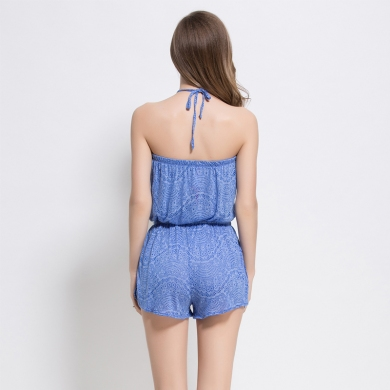 Most Popular Casual style Adjustable - ties Beach wear Women's Viscose Cover up Romper