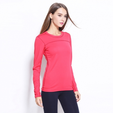 Plus size Female Breathable Quick Dry Long Sleeve Sports T shirts for Women Yoga Running Fitness S - 3XL